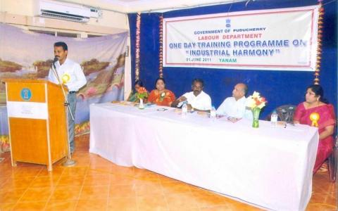 31st Image of One Day Training Progamme on Industrial Harmony on 23rd September 2010