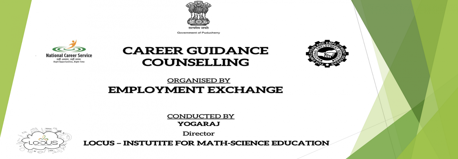 Career Guidance Webinar on 2.12.2020